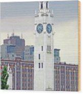 Clock Tower Montreal 2 Wood Print