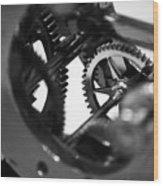 Clock Work - 2 Of 2 Wood Print