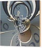 Clockface 11 Wood Print