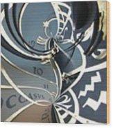 Clockface 14 Wood Print