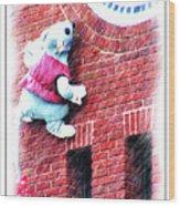 Clocktower Mouse Wood Print