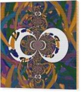 Cloister Wood Print