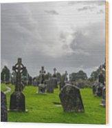 Clonmacnoise Monastery Wood Print
