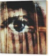 Arrested - Visceral Wood Print