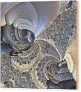 Close-up Texture Wood Print