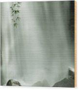 Close View Vertical Of Trafalgar Falls Wood Print