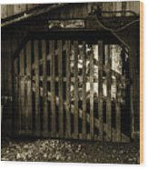 Closed Barn Wood Print