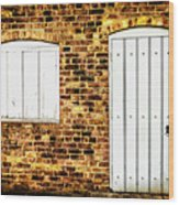 Closed For Business Wood Print