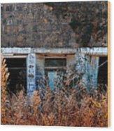 Closed 'til Spring Wood Print