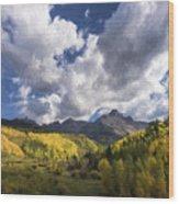 Closer To Heaven II Wood Print