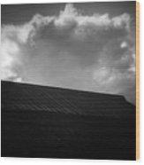 Cloud #9382 Wood Print