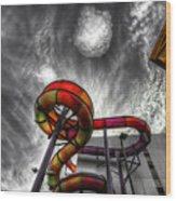 Cloud 9a Wood Print