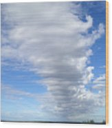 Cloud By Day Wood Print