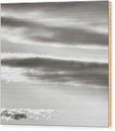Cloud Cover 2 Wood Print
