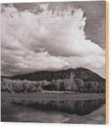 Cloud Cover Wood Print