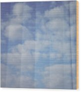 Cloud Curtain Wood Print