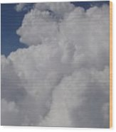 Cloud Depth I Wood Print