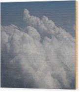 Cloud Depth II Wood Print