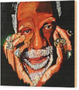 Cloud Eleven - Bill Russell Wood Print