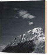Cloud Formation Wood Print