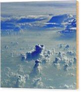 Cloud Formations Wood Print
