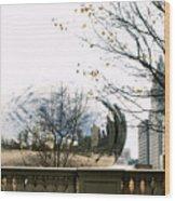 Cloud Gate - 1 Wood Print