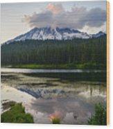 Cloud Hog Wood Print