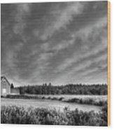 Cloud Illusion Wood Print by Elisabeth Van Eyken