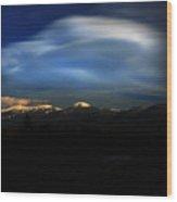 Cloud Illusions Wood Print