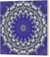 Cloud Kaleidoscope Wood Print