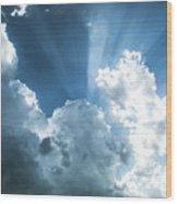 Cloud Light  Wood Print