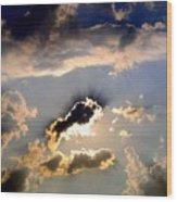 Cloud Nine 4 Wood Print