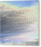 Cloud Nine 5 Wood Print