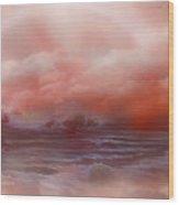 Cloud Ocean Wood Print