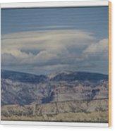 Cloud On Route 6 Wood Print