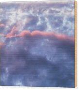 Cloud One Wood Print