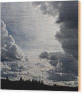 Cloud Study 2 Wood Print