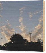 Cloud Symphony Wood Print