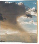 Cloud Tail Wood Print