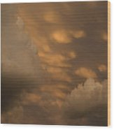 Cloud Wrath Wood Print