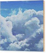 Cloudbank Wood Print