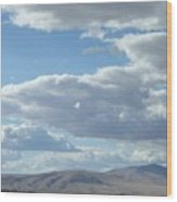Cloudbreaks Over Rattlesnake Wood Print