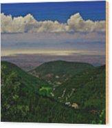 Cloudcroft Canyon View Wood Print