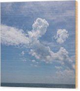 Clouds 2017-1 Wood Print