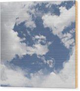 Clouds 31 Wood Print