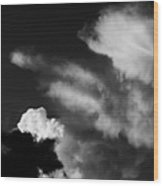 Clouds-4- St Lucia Wood Print