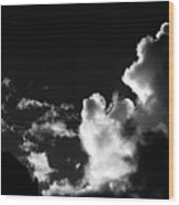 Clouds-5- St Lucia Wood Print