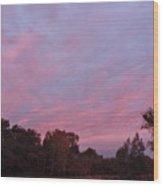 Clouds 54 Wood Print