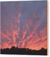 Clouds 55 Wood Print