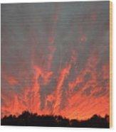 Clouds 63 Wood Print